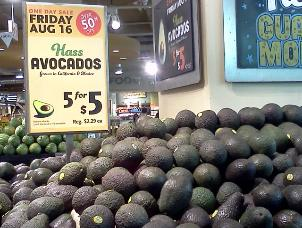 photo: sale of avocados that's HARD to resist
