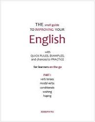 Grammar book cover: The small guide To Improving Your English